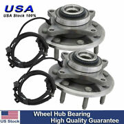 Set 2 Front Left And Right Wheel Hub Bearing Assembly Fits Ford F-150 7 Lug