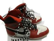 Air Jordan 1 Chicago Red White Ultra Skinny High Sneakers Size 8 W/ 6.5m