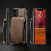 For Iphone 12 11 7 8 X Xs Max Xr Se 2020 Pu Leather Wallet Flip Back Case Cover