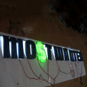 Custom 6and039and039 Channel Letters Commercial Logotypes Led Halo Backlit Lighted Signs