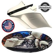 Morocco Gold Pearl Stretched Extend Side Cover Pinstripe For Harley Davidson 14+