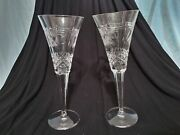 Waterford Crystal Peace Toasting Flute Pair