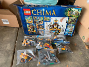 Lego Legends Of Chima The Lion Chi Temple 70010