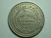 San Diego Ca Whiting Mead Co. Dept. Store 10andcent Token 1