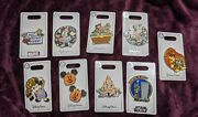 Walt Disney Pins Set Of 9 Halloween Will Trade Brother For Candy Minnie Mickey