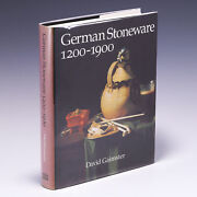 German Stoneware, 1200-1900 Archaeology And Cultural History David Gaimster