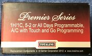 Totaline 1h/1c Programmable A/c W/ Touch And Go Programming P720-11pac Thermostat
