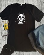 Kurt Cobain Portrait Shirt Nirvana Rock Band Group 80s 90s Xs-4xl Soft T Shirt