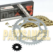 Gold Drive Chain And Sprocket Kit For 2003 2004 Polaris Predator 500 14/37 94l