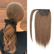16-24and039and039 Pretty Sexy New Ponytail 8a Remy Human Hair Extension Many Colors