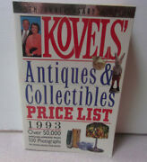 Vintage 1993 Kovelsand039 Antiques And Collectibles Price List 25th Anniversary Book