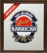 Antiques Bass Beer - Barbican Print On Mirror