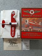 Wings Of Texaco 1930 Travel Air Model R Mystery Ship 5th In Series Coin Bank