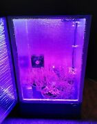 3ft Led Califlowerbox Stealth Grow Box Cabinet Hydroponic / Soil And Carbon Filter