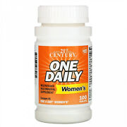21st Century One Daily Womens Multivitamin Multimineral Supplement 100 Tablets