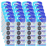 100pcs Cr2430 3v Button Coin Cell Lithium Battery For Car Remote, Laser Pointers