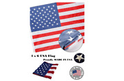 4x6 American Flag National Made In Usa Embroidered Stars Us Pride Sewing Strips
