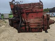 Perkins 6.354 Engine Removed From Massey Combine Several Years Ago Barn Stored