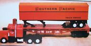 Lionel 52222 Sp Flat With Tractor And Trailer  New
