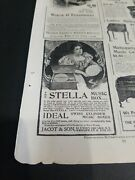 1899 October Ad Advertisements Mcclures Magazine The Stella Music Box And Ruyter