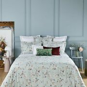 Blossom By Yves Delorme Paris, Organic Cotton Percale Floral Print Duvet Cover