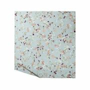 Blossom By Yves Delorme Paris, Organic Cotton Percale Flat Sheet, Floral Print