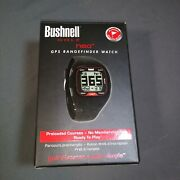 Bushnell Golf Neo+ Gps Rangefinder Watch - Box, Manual And Charger