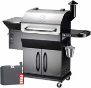 Z Grills Wood Pellet Grill And Smoker 8 In 1 Bbq Grill W/ Pid Controller 1000sq In