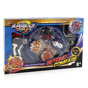 Boxed Beyblade Burst Spin Tops B113 B115 B117 B118 Xd168-10 With Handle Launcher