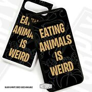 Printed Plastic Clip Phone Case Cover For Huawei - Eat-animals-weird