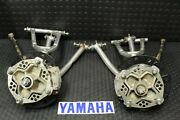 Yamaha Raptor 700 Yfz 450 Front A-arms Brakes Hubs Spindles 2004-2009 Silver Kb1