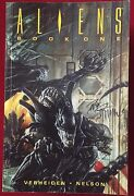 Aliens Book One - Trade Paperback Signed By Dave Dorman - Dark Horse Comics