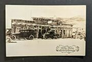 Mint Welty Store Dubois Wyoming Gas Station Old Cars Rppc Real Photo