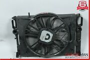 03-06 Mercedes W211 E500 Cls500 Engine Cooling Radiator Fan Ac A/c Condenser Oem