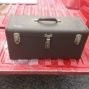 Kennedy Toolbox K-20-547308 Nice Shape 20x10x9 Inches Kennedy Toolbox Made In Us