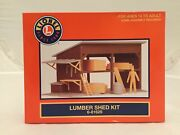 Lionel 6-81629 Lumber Shed Kit Brand New