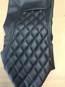 Street Glide Harley Seat Cover Black Stitching P52320-11 2008-18 Cover Only