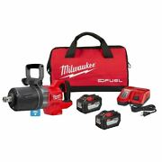 Milwaukee 2868-22hd M18 Fuel 1 D-handle Impact Wrench Kit W/2 12ah Batteries