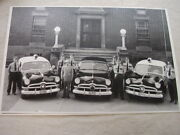 1950 Ford Police Cars Ohio 11 X 17 Photo Picture