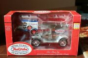True Value 125 Scale And 143 Scale Model T Truck Bank 2 Piece Set 2000