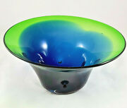 Milson And Louis Hand Blown Art Glass Bowl - Large