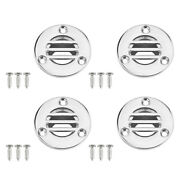 4x Deck Floor Drain With Screws Marine Grade Stainless Steel Boat Ship 7/8and039and039