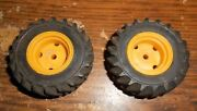 2-lot 21/8x3/4wide Goodyear 16.9x24 Tires And Rims In Good Shape Used