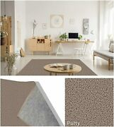 Putty 1945 Soft And Cozy Area Rugs / Latex Free Felt Backing/green Label Plus