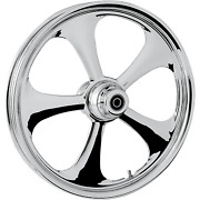 Rc Components - 23375-9032a-92c - Nitro Front Wheel Single Disc 23x3.75in. -
