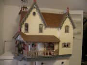 Victorian Dollhouse Very Large And Furnished