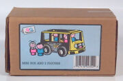 Vintage Fisher Price Little People Play Family Pampers Promotional Mini Bus Van