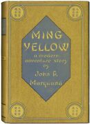 John P Marquand / Ming Yellow First Edition 1935