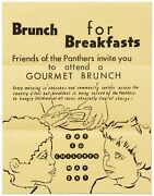 Broadside Brunch For Breakfasts Friends Of The Panthers Invite You To Attend