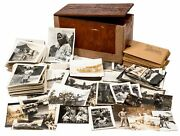 Archive Box Of Photographs Taken By Press Photographer For The Us Navy During